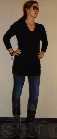 Свитер джинсы колготки