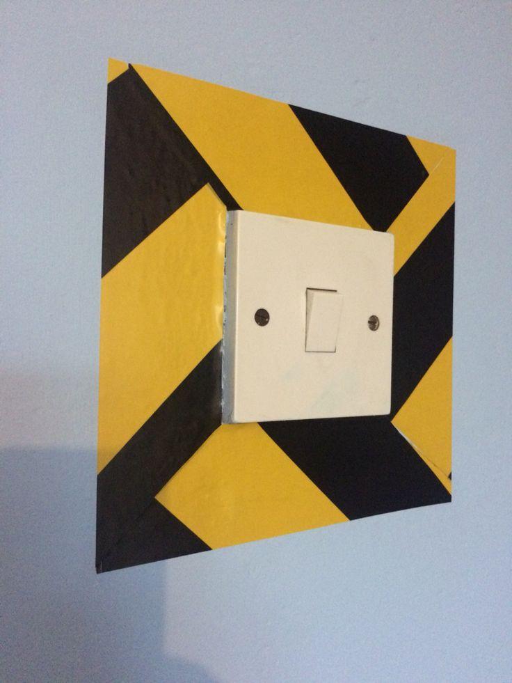 minion bedroom light switch