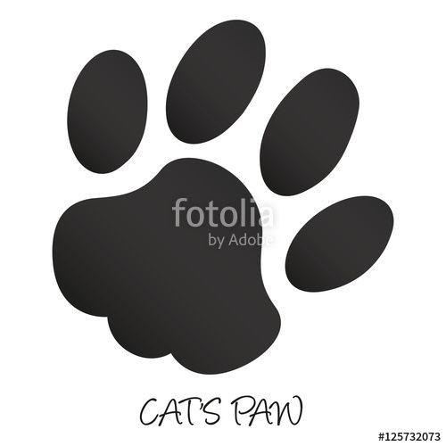 """Laden Sie den lizenzfreien Vektor """"Katzenpfote"""" von WuP Media zum günstigen Preis auf Fotolia.com herunter. Stöbern Sie in unserer Bilddatenbank und finden Sie schnell das perfekte Stockbild für Ihr Marketing-Projekt!"""