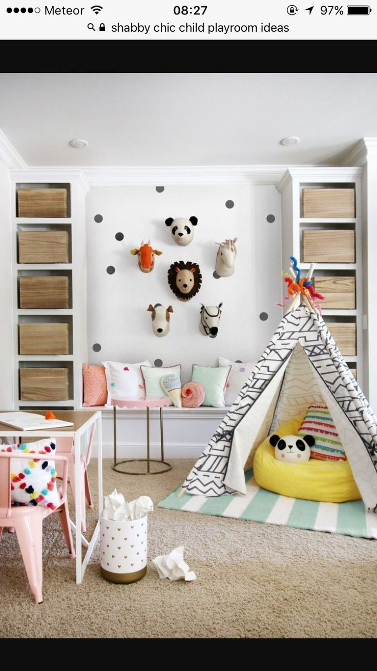 6 Totally Fresh Decorating Ideas for the Kids' Playroom Kristin Jackson,  Hunted Interior