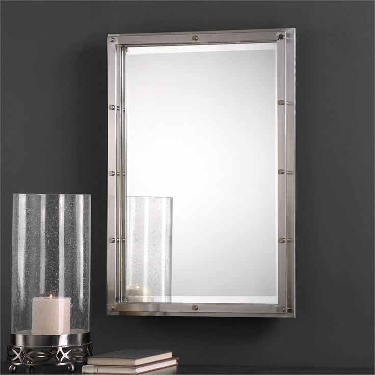 Uttermost Manning Wall Mirror   Modern Design Strives To Marry The Softness  Of Aesthetic Beauty With The Strength Of Industrial Austerity, And The  Uttermost ...