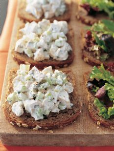 Barefoot Contessa - Recipes - Chicken Salad Sandwiches