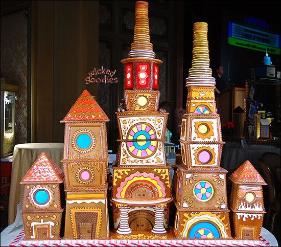 Willy Wonka's Chocolate Factory Gingerbread House