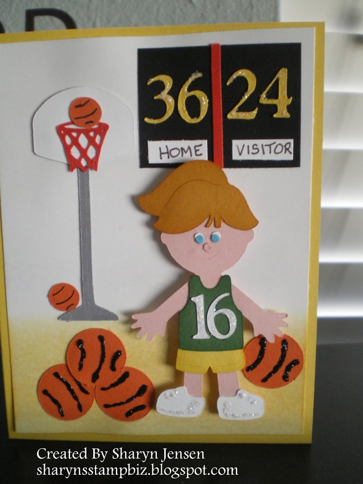 Everyday Paper Dolls - basketball