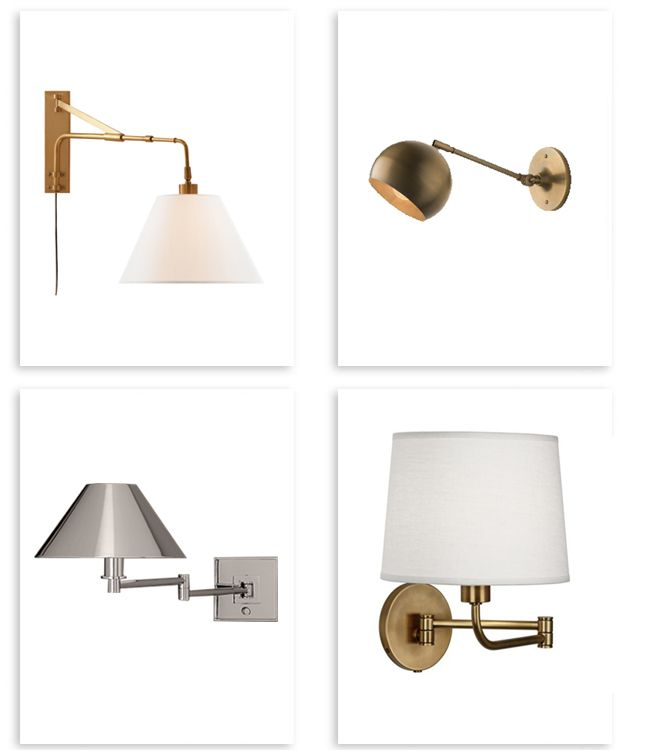 25 Best Swing Arm Lamps Ideas On Pinterest Swing Arm Wall Sconce Bedroom Wall Lamps And