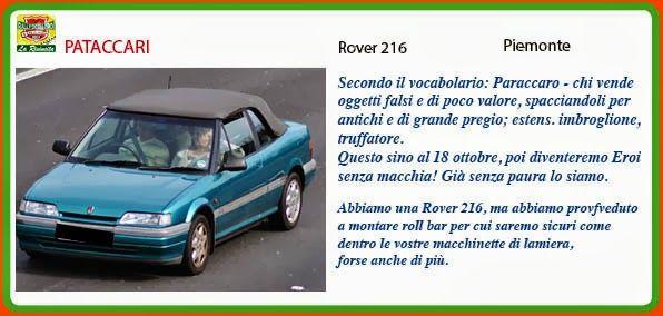 _GLI SBULLONATI (ex PATACCARI) http://rallydeglieroilarivincita.blogspot.it/p/catalogo-degli-eroi.html #LaRivincita #RallydegliEroi @RobertoCattone