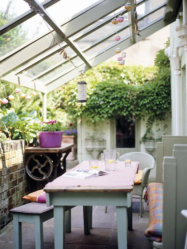 Comedor-exterior-techado