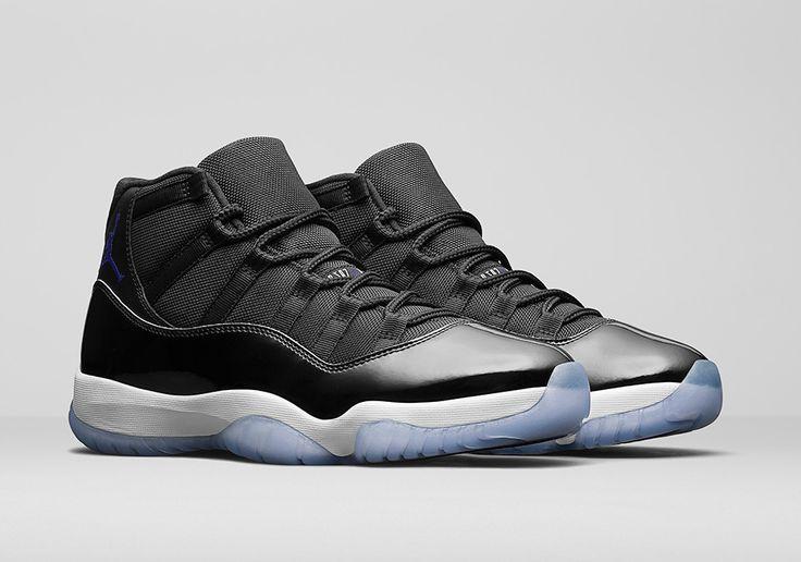 "Official Images Of The Air Jordan 11 ""Space Jam"" - SneakerNews.com"