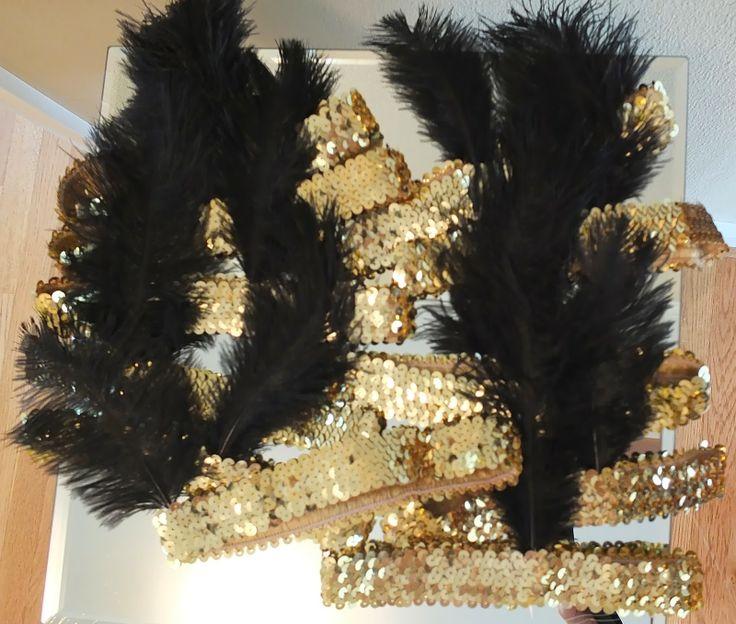 Roaring 20s Party - Flapper Headbands