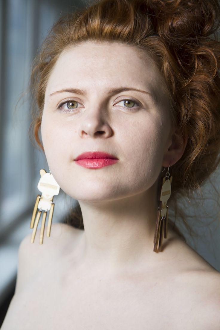 Panda Earrings www.kikerigu.fi
