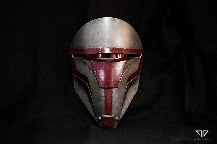 Darth Revan's mask by darthrith
