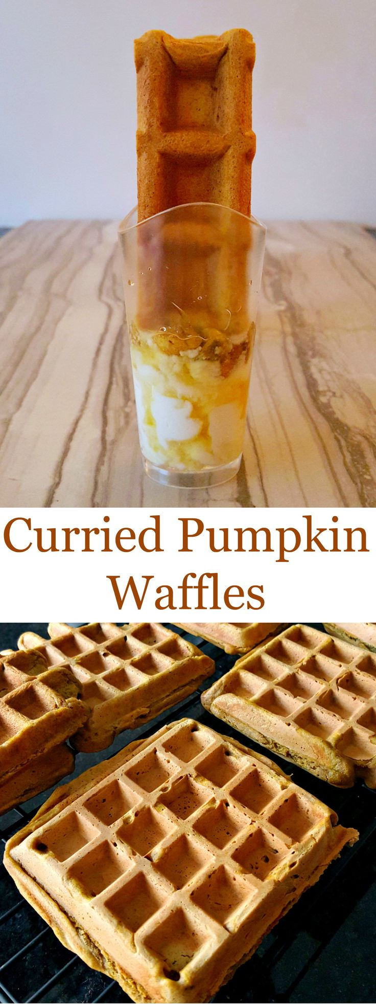 These Curried Pumpkin Waffles are the complement to my Curried Pumpkin ...