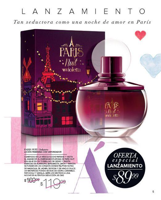 Perfume Paris Nuit , lanzamiento de campaña