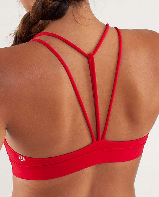 trinity bra lululemon...love this, but will it support what I've got?!