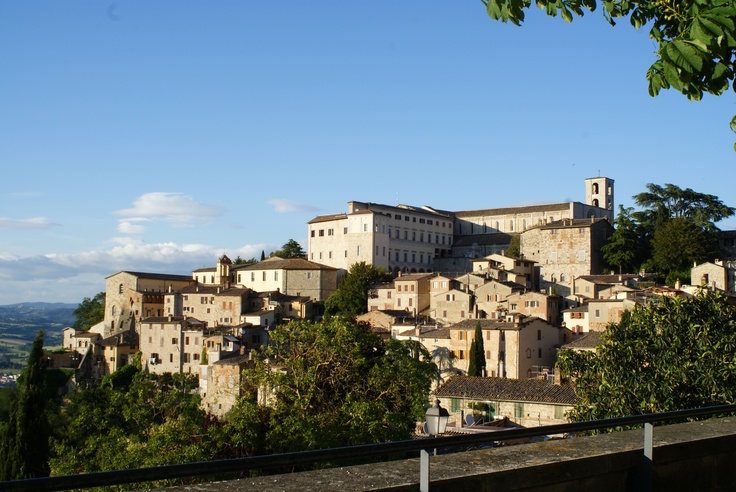 Todi medieval town in Italy