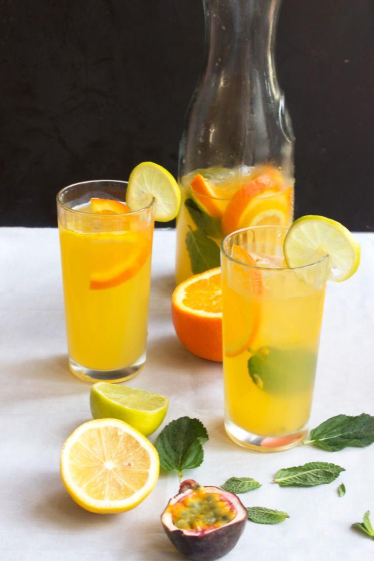 Passion Fruit Citrus Sangria | Recipe