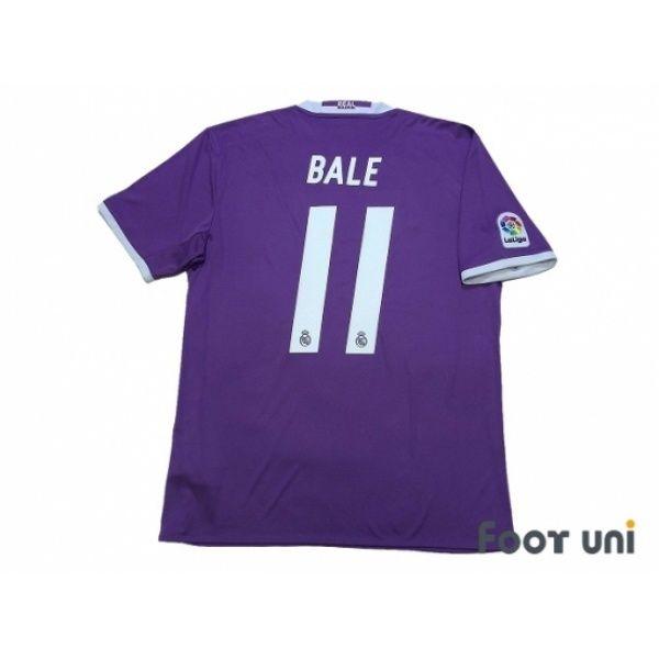 Real Madrid 2016-2017 Away Shirt  11 Bale FIFA World Club Cup Champions 2016 f41aa04cd