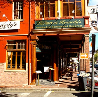 The Dubliner on Long Street is a favorite of study abroad students with a claim to fame as Cape Town's first authentic Irish Pub.