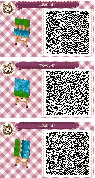 Mejores 527 im genes de acnl path codes en pinterest for Animal crossing mural