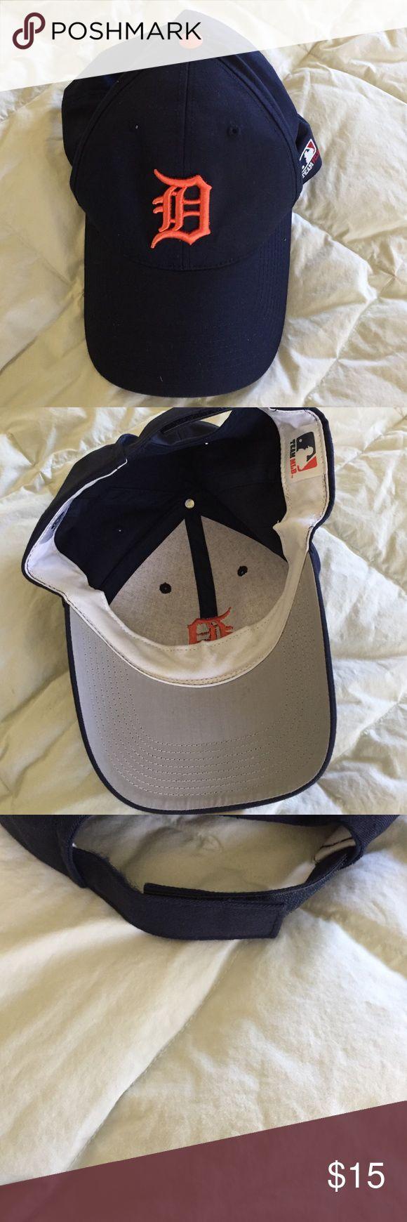 Baseball cap Detroit⚾️ Brand-new never used Detroit baseball cap navy blue Accessories Hats