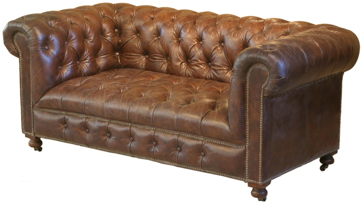 www.topolansky.co.za - Our well renowened Bensington 2 seater in Vintage Leather.