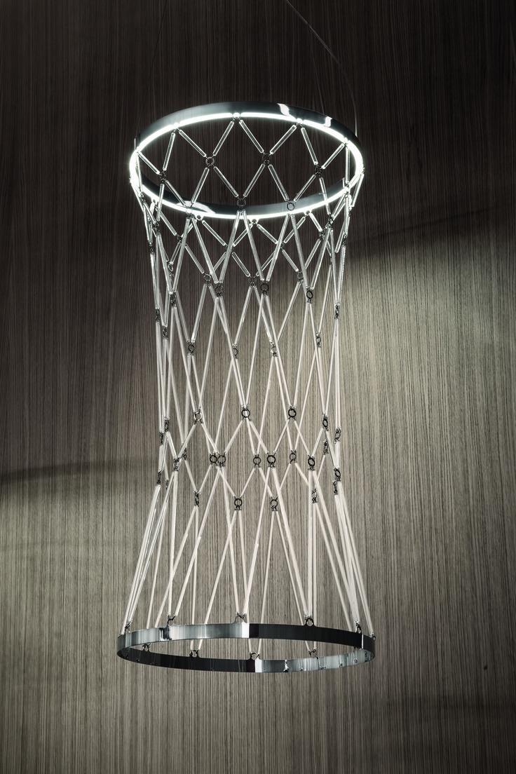 Starnet by Vistosi #design Veneziano+Team #GianniVeneziano #LucianaDiVirgilio #Vistosi #Starnet #Lamp #art #project
