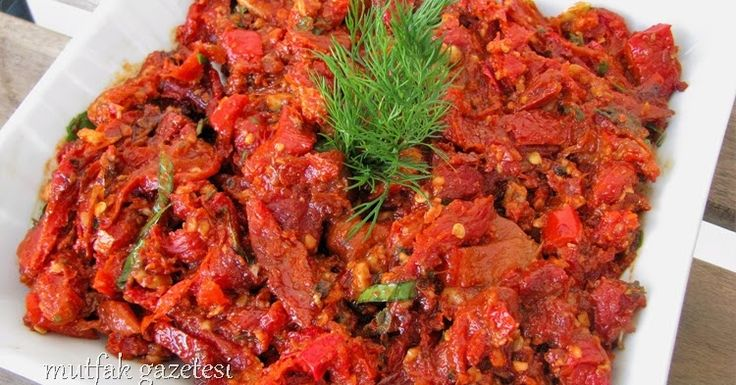 Cevizli bezirgani tarifi   Cevizli kuru domates salatası   Kuru Domates mezesi   Kuru domates salatası   Cevizli Bezirgani,  hem kahvaltı s...