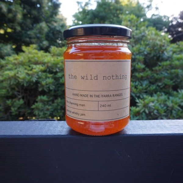 Our apricot and whiskey jam, one of our best selling products! Click on our website for more info or to purchase: thewildnothing.com.au