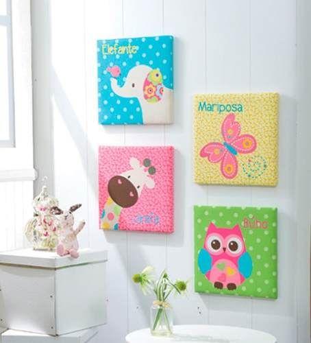 De 25 bedste id er inden for cuadros infantiles p pinterest - Cuadros para habitaciones infantiles ...