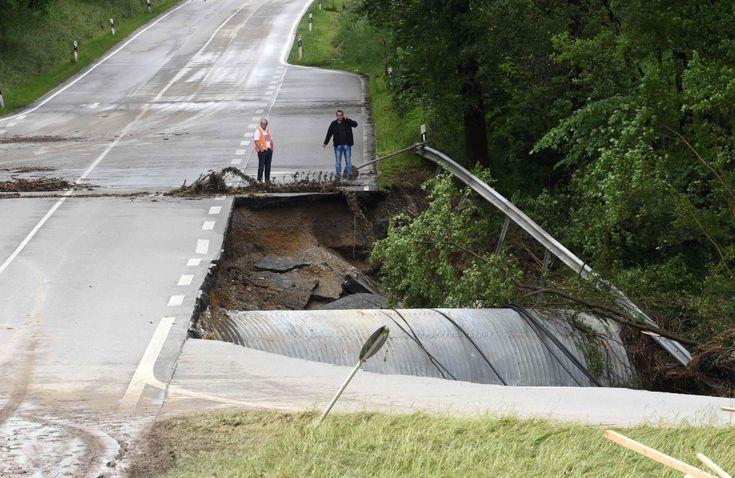 Fotos: Inundaciones en Francia y Alemania