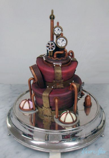 steampunk wedding cakes 48 best images about noteworthy wedding cakes on 20518