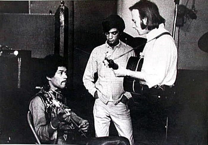 Stills y Hendrix