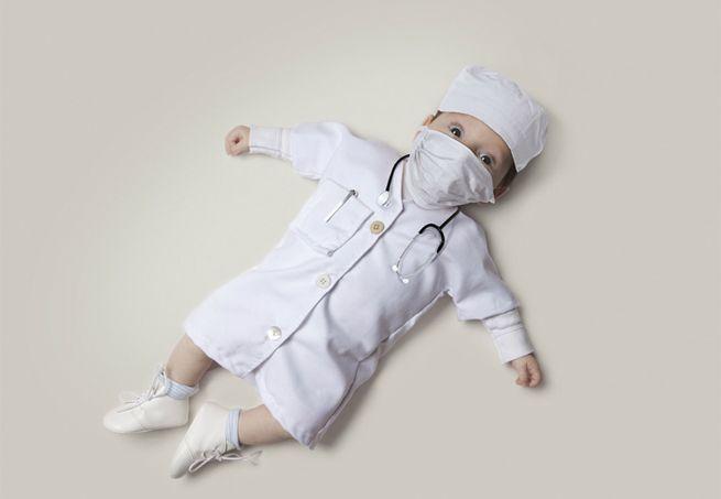Será que o seu filho vai ser médico?
