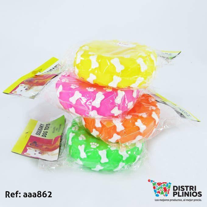 Juguete Para Perro Rueda Grande De Colores Para Mascotas Divertido juguete en goma rueda grande de colores, con sonido, ideal para tu mascota. Medidas: Alto: 20 cms Largo: 5 cms Ancho: 14 cms. Para ventas al por mayor comuníquese al 320 3083208 o al 3423674 en Bogotá