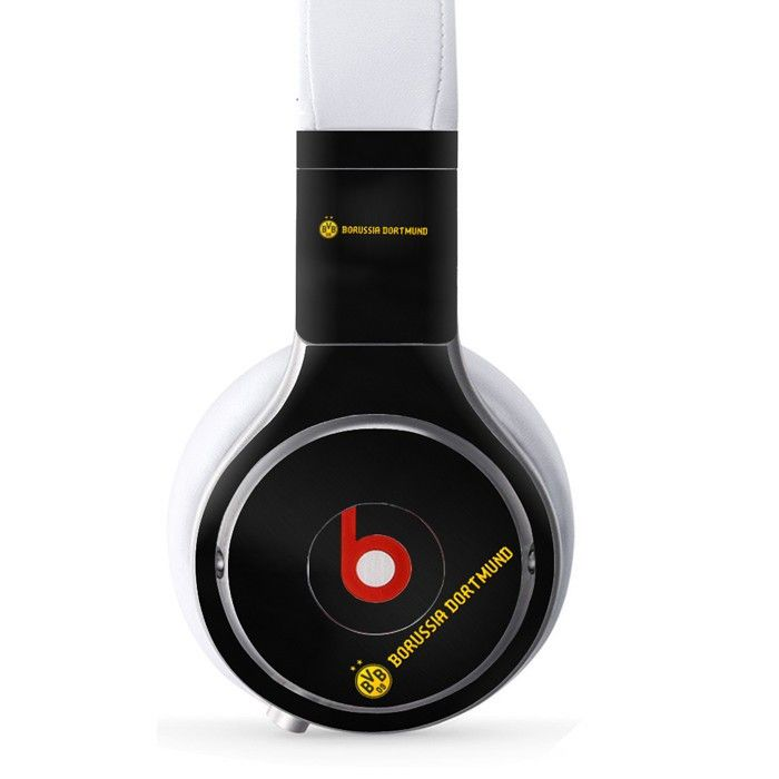 Borussia Dortmund decal for Monster Beats Pro wireless headphones