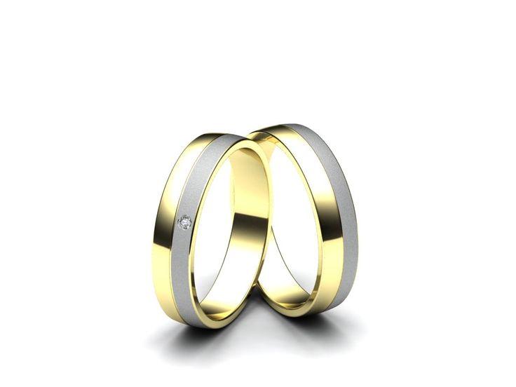 Snubní prsteny A489  #aiola #wedding #rings