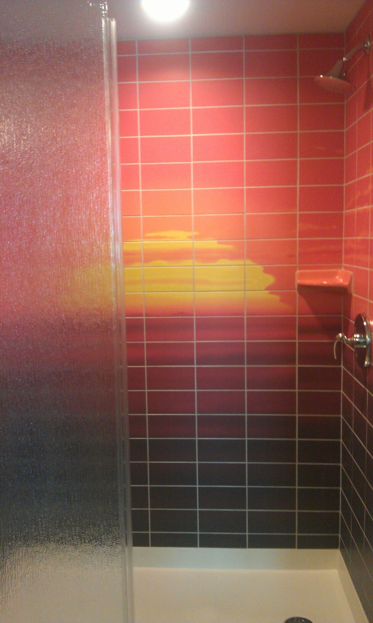 Bathroom in the Lion King room in Art of Animation