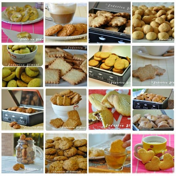 La cucina di Federica: Ricette biscotti per colazione