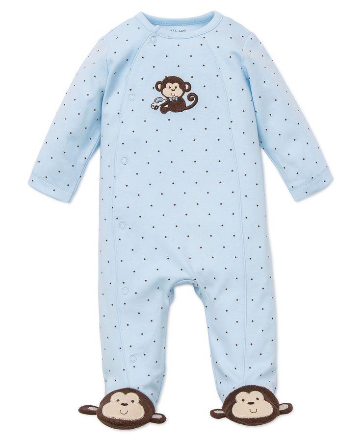 Little Me Boutique - Little Monkey Footie, $16.00 (http://www.littleme.com/little-monkey-footie/)