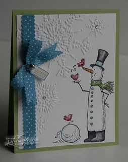 Snow Much Fun--love this new little set--of course Snowmen steal my heart every time--too bad it's 100 degrees outside!!!   ;-)
