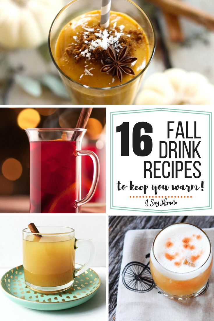 16 fall drink recipes to keep you warm cocktails hot for Fall cocktail ideas