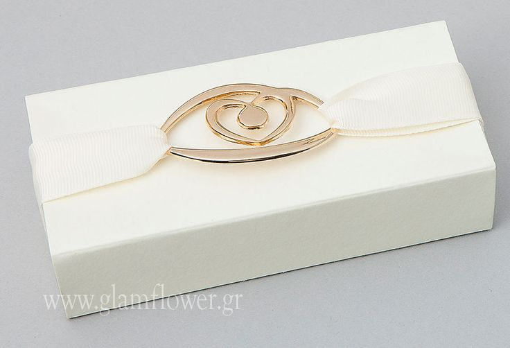 Μπομπονιέρα γάμου κουτί μάτι | Glam & Flower