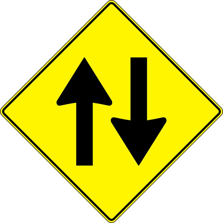 Two Way Street Traffic Signs transparent image