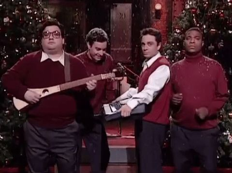 New party member! Tags: snl jimmy fallon saturday night live holiday special tracy morgan horatio sanz chris kattan i wish it was christmas