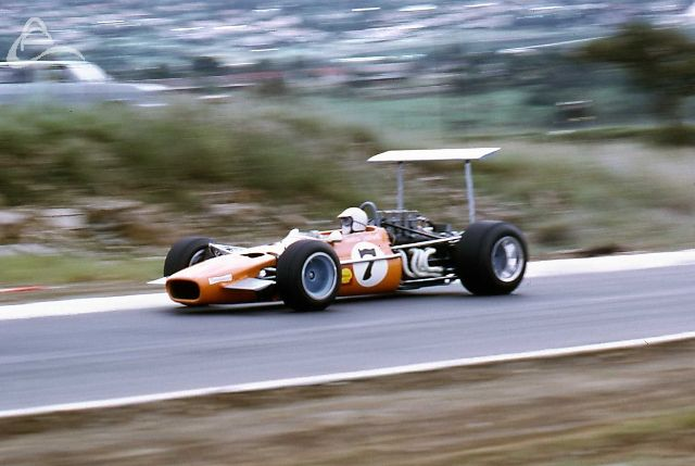 Dave Charlton Lola Chev T142 Pietermaritzburg 1969 South African Grand Prix which was a non Championship race.
