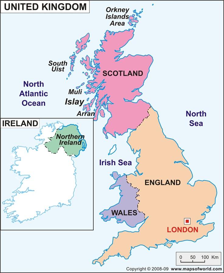 Best UK Explained Images On Pinterest British Isles Union - Map os us and england