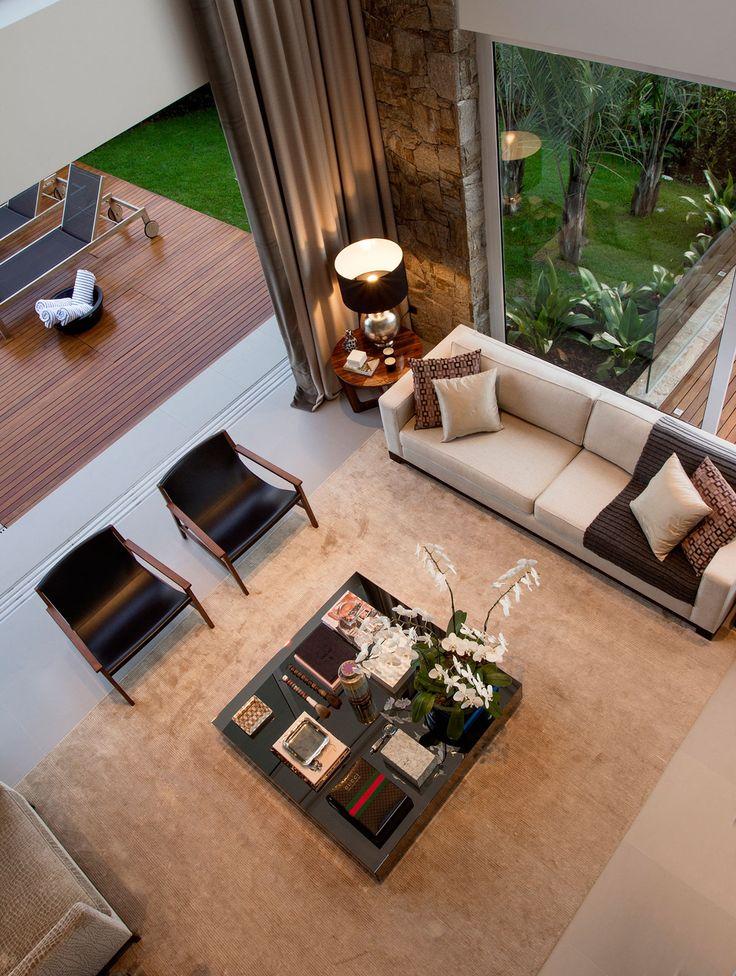 Luxurious Casa Condominio II was designed by Marcelo Mota Arquitetura