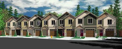 Seven Plex House Plan with Open Living Area - 38026LB thumb - 01