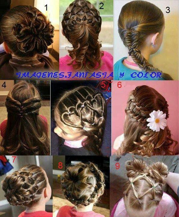 peinados de nias