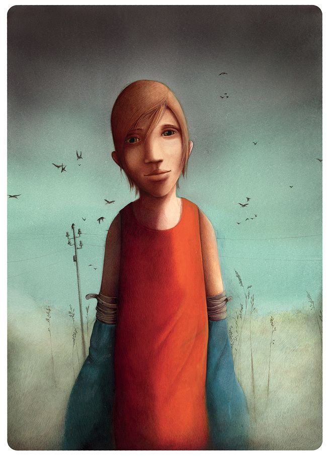 Rébecca Dautremer - Jonah (inédit) | Oeuvres | Galerie Robillard